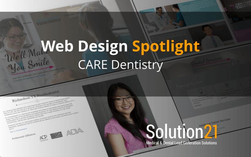 Web Design Spotlight: Centerpoint Advanced Restorative and Esthetic Dentistry
