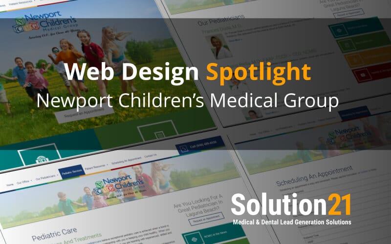Web Design Spotlight: pediatricianlagunabeach.com