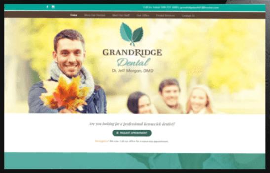 Responsive Web Design for Dentists