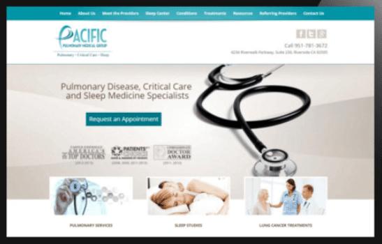 Responsive Web Design for Doctors