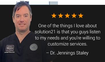 Solution21 Client Testimonial