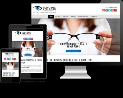 StoneyCreeek Eye Care Site